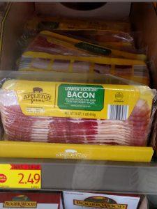 Appleton Farms Lower Sodium Bacon