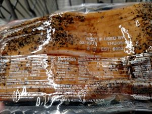 Appleton Farms Thick Sliced Peppered Bacon label