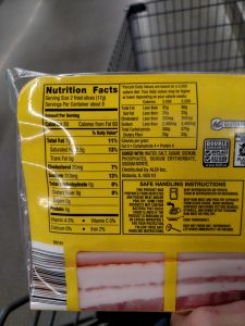 Appleton Farms Center Cut, Premium Sliced bacon label