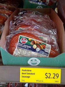 Parkview Beef Smoked Sausage