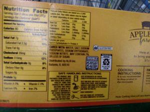 Appleton Farms Sliced Bacon label