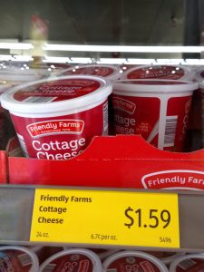 Friendly Farms Cottage Cheese