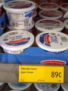 Friendly Farms Sour Cream