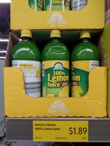 Nature's Nectar 100% Lemon Juice