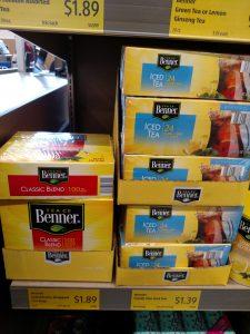 Benner iced tea