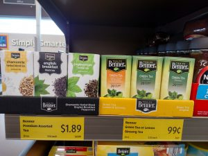 Benner flavored teas