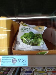 Simply Nature Organic Broccoli Florets