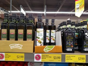 Carlini, Simply Nature Organic or Specially Selected Premium Extra Virgin Olive Oils
