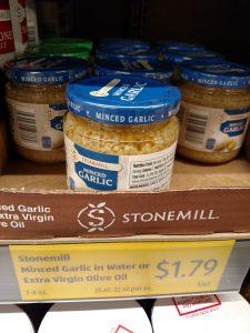Stonemill Minced Garlic in Water