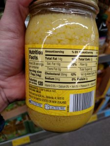 Carlini Ghee Clarified Butter label
