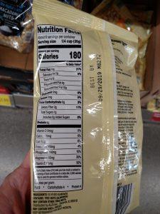 Chopped Walnuts label