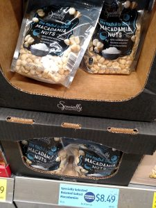Specially Selected Roasted Salted Macadamias