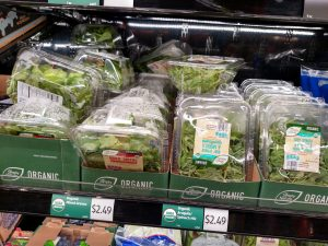 lettuce in store