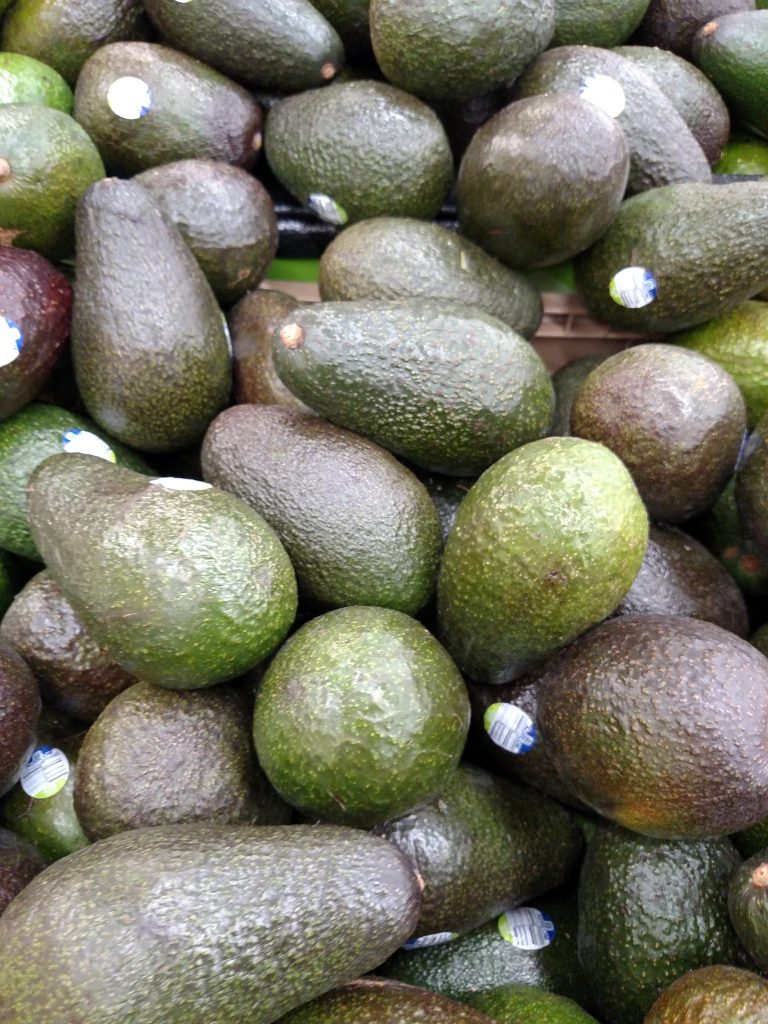 avocados in store