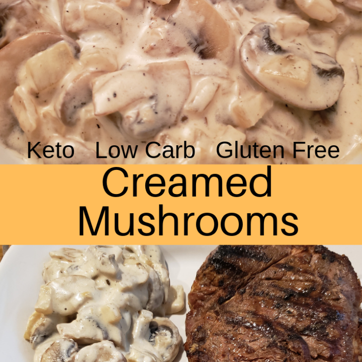Creamed Mushrooms