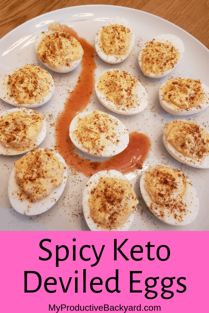 Spicy Keto Deviled Eggs
