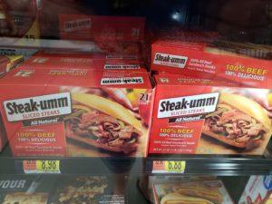 Steak-Ums—100% real beef