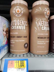 Rapid Fire Ketogenic Coffee creamer
