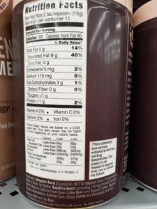 Rapid Fire Ketogenic Coffee label