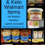 Best 60 Low Carb Keto Walmart Items Pinterest Pin