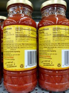 Old El Paso Mild Taco Sauce label
