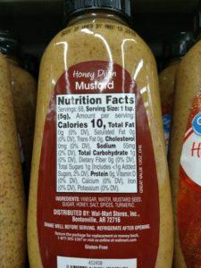 Mustard label
