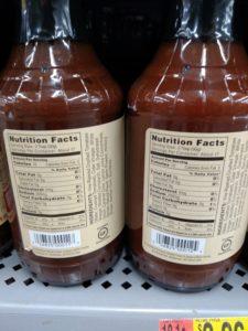 G Hughes BBQ Sauce label