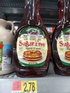 Maple Grove Farms Sugar Free Maple Flavor Syrup