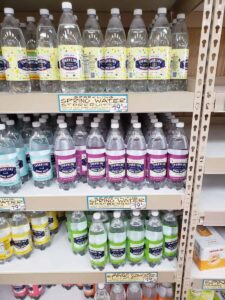 Sparkling Water; assorted flavors