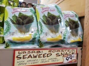 Wasabi Roasted Seaweed Snack