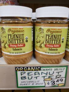 Organic Peanut Butter; salted