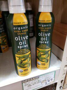 Organic Extra Virgin Spanish Olive Oil Spray