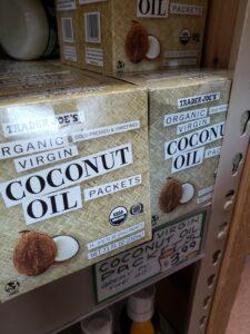 Organic Virgin Coconut Oil packets