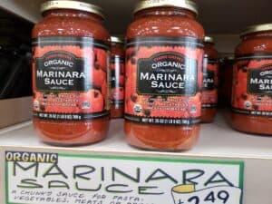 Organic Marinara Sauce