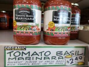 Organic Tomato Basil Marinara