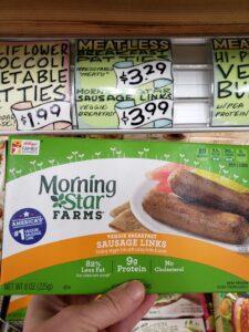 Morning Star Veggie Breakfast Sausage Links