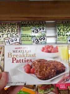 Meatless Breakfast Patties