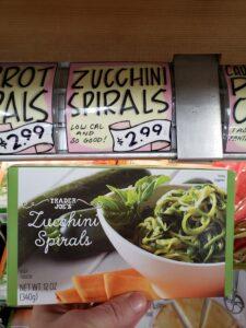 Zucchini Spirals
