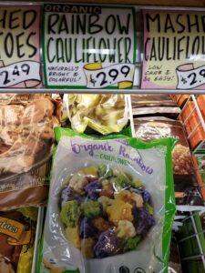 Organic Rainbow Cauliflower