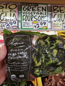 Organic Green Vegetable Foursome