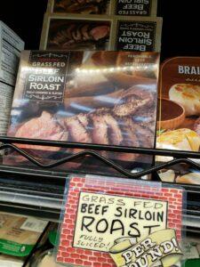 Grass Fed Beef Sirloin Roast