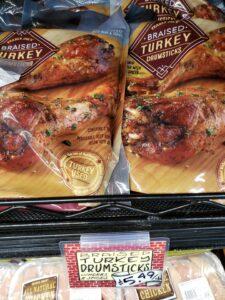 Braised Turkey Drumsticks