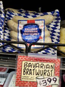 Uncured Bavarian Bratwurst