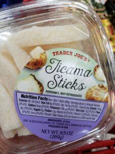 Jicama Sticks label