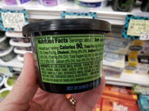 Roasted Garlic & Herb Butter Spread label