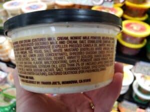 Bacon Cheddar Ranch Dip label
