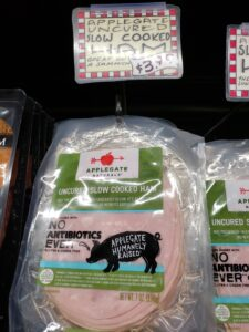 Applegate Uncured Slow Cooked Ham