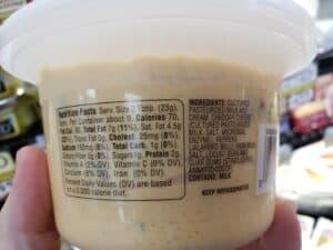 Pub Cheese; cheddar & jalapeno label