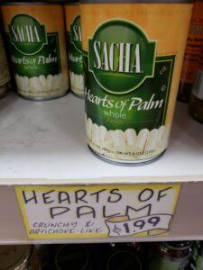 Sacha Hearts of Palm