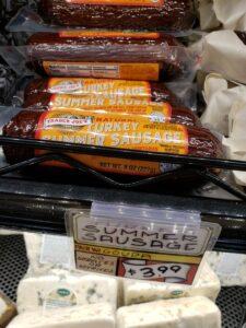 Natural Turkey Summer Sausage